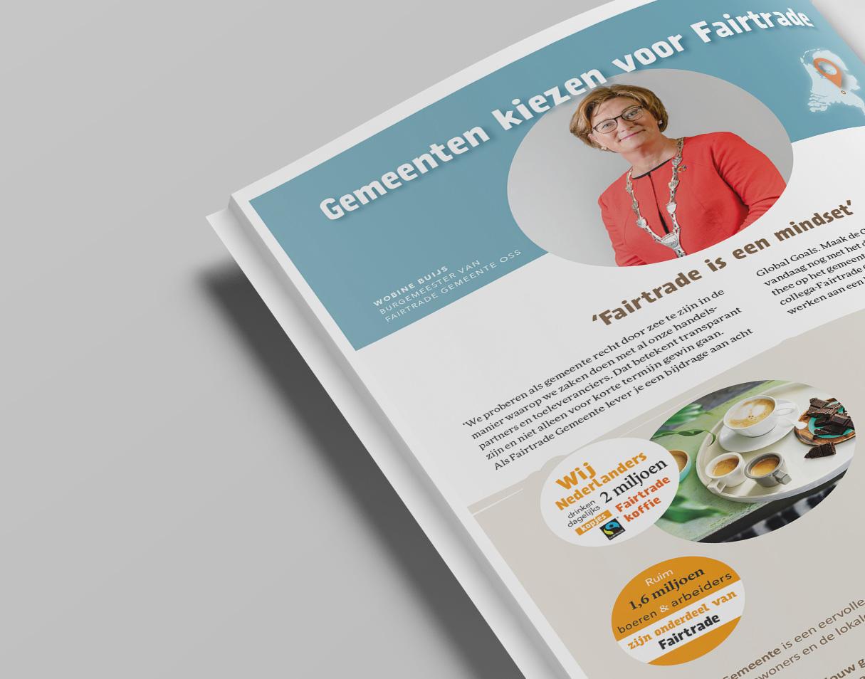 Max Havelaar advertentie in VNG Magazine